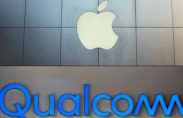 apple qualcomm announce settlement in royalty dispute