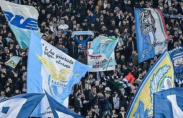 Lazio fans hold fascist flash mob ahead of Milan semi-final
