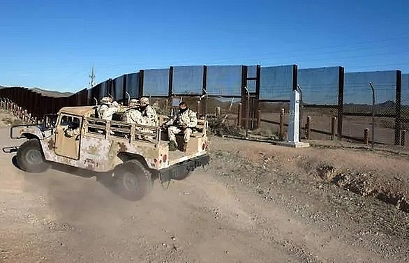 Trump says sending 'armed soldiers' to US-Mexico border
