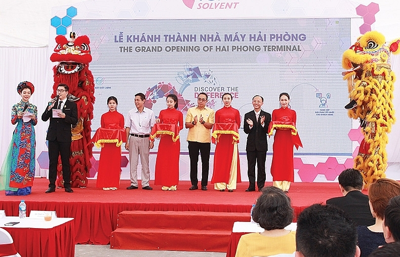 $13 million Top Solvent Haiphong facility opens