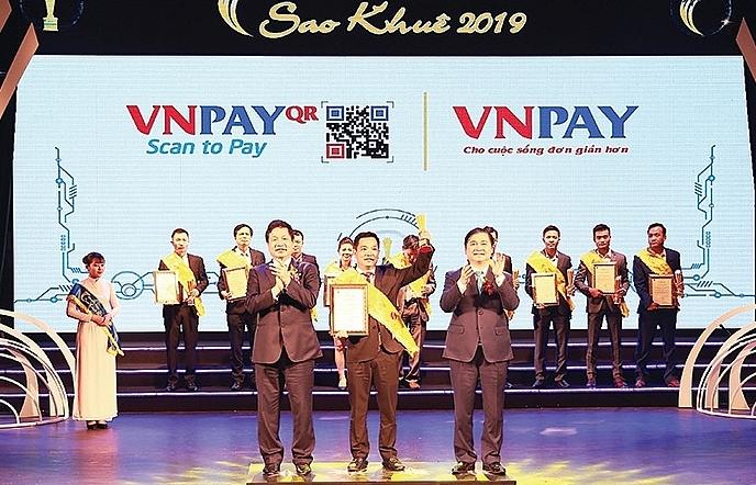 VNPAY in top 10 at Sao Khue Awards