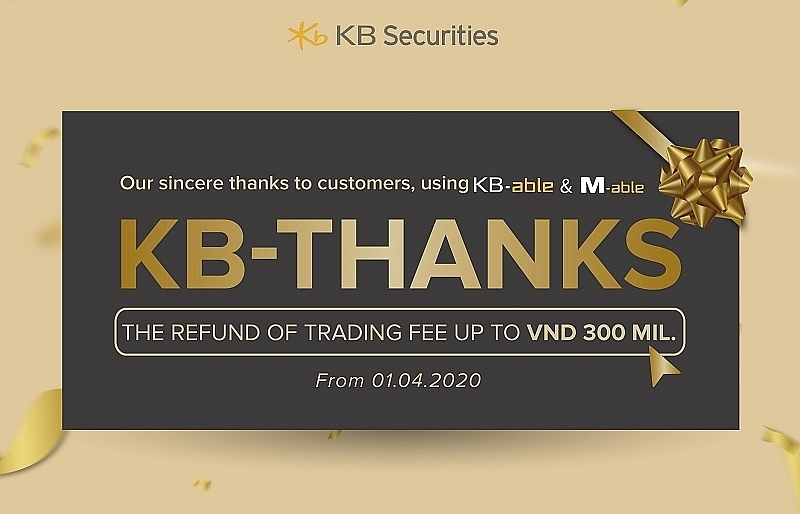 kb securities vietnam supports investors with attractive promotions