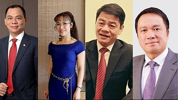 Four Vietnamese billionaires named in Forbes 2020 rich list