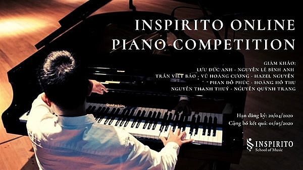 online piano competition calls for applications