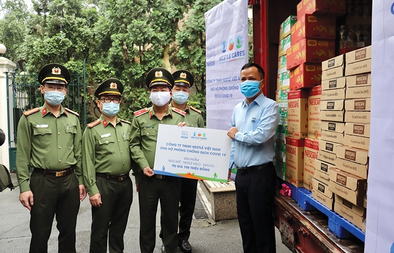 Nestlé Vietnam supporting frontline heroes and healthier communities