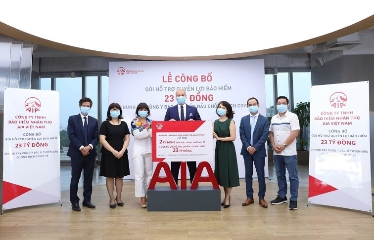 AIA Vietnam creates $1.1 million support packages for COVID-19 frontline warriors