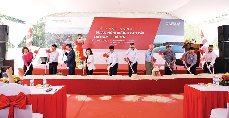 indochina kajima commences phu yen luxury tourism project