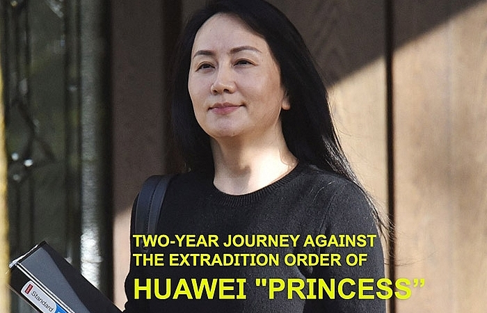 """Two-year journey against the extradition order of Huawei """"PRINCESS"""""""