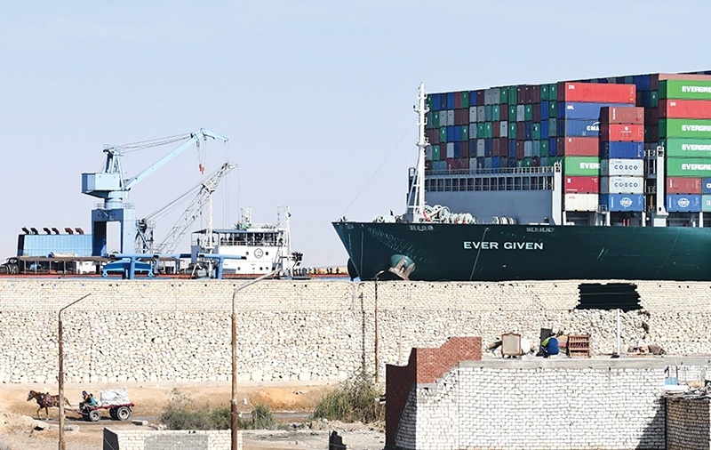 Suez Canal fiasco adding to prolonged trade difficulties