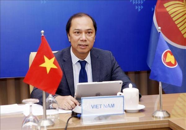 asean uk open ended troika virtual meeting held