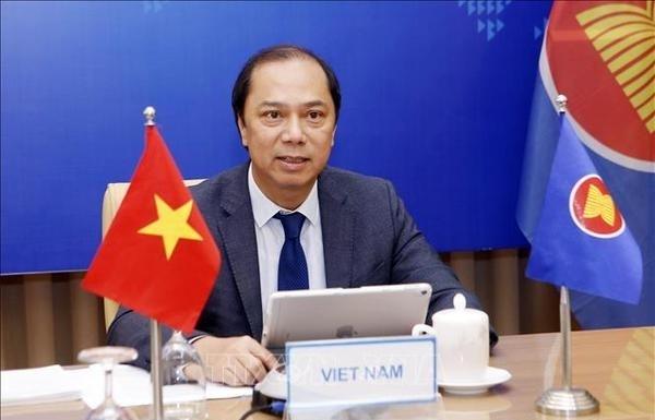 ASEAN-UK open-ended troika virtual meeting held