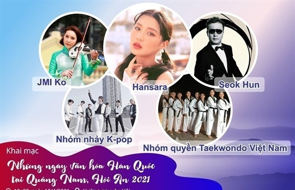 Korean Culture Days kick off in central Quang Nam province