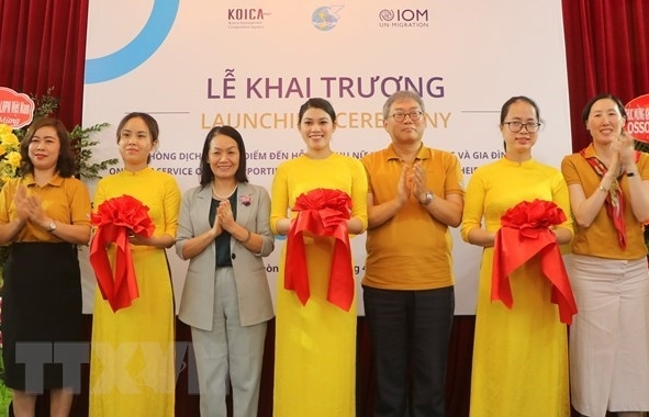 one stop service office for returning migrant women opens in hai phong