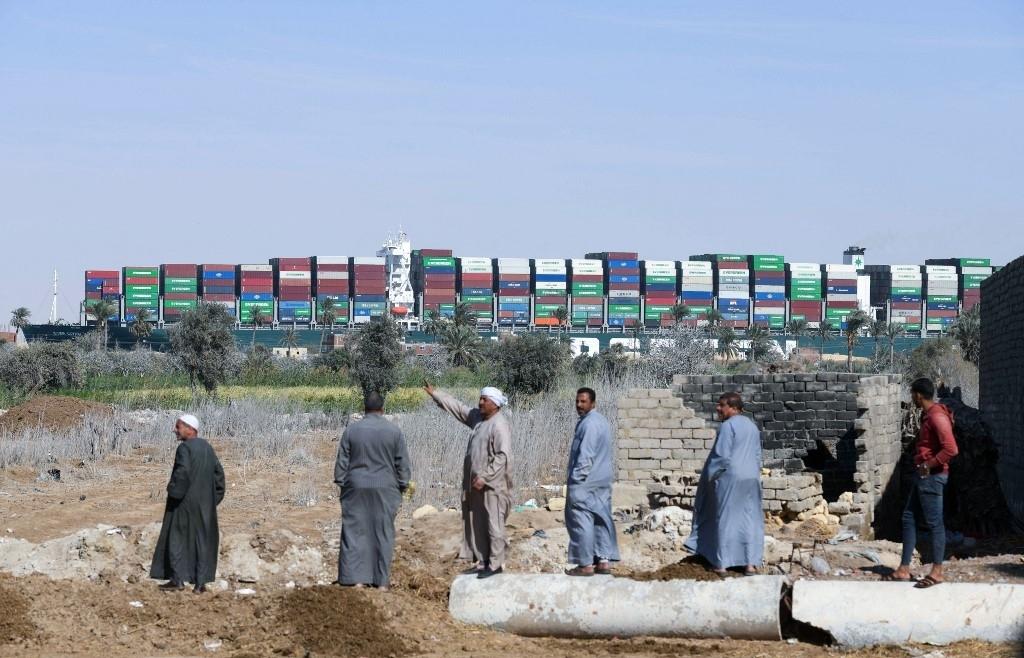 Egypt 'seizes' megaship over nearly $1 bln Suez claim