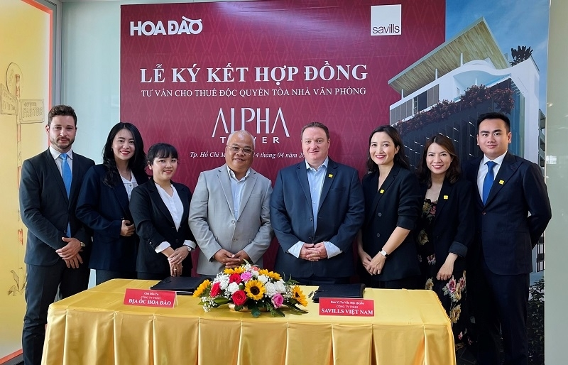 Savills Vietnam appointed as exclusive leasing agent for Alpha Tower