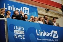 LinkedIn share price rockets after stock launch