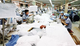 Garment firms trying on locals for size