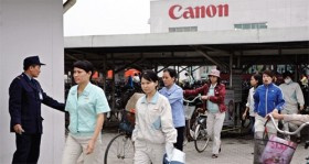 Canon hunts suppliers