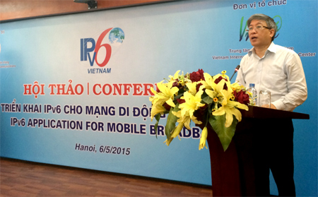 Vietnam to develop IPv6 on mobile devices
