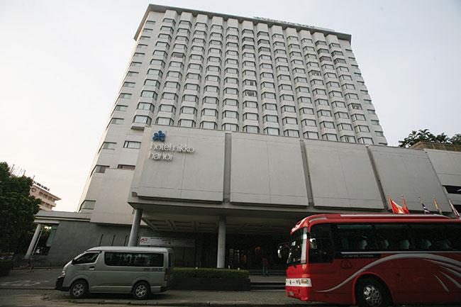 hotels under pressure as market dips