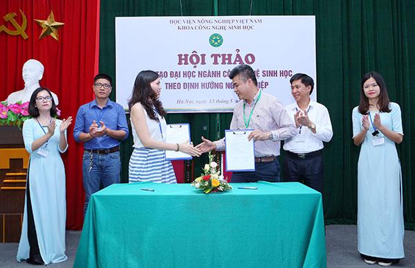 Cooperation to raise next generation of agri-biotech experts: Monsanto-VNUA
