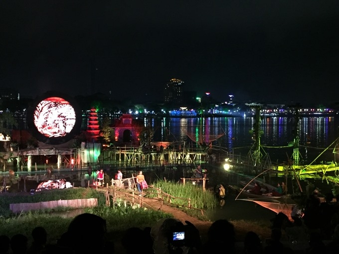show on huong river falls short of audiences expectation