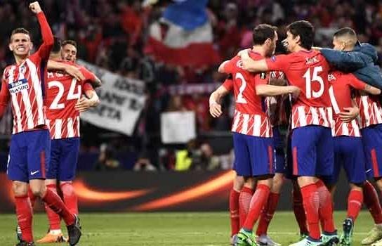 Atletico beat Arsenal to reach Europa League final