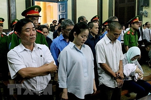 trial held for 28 former officials of dai tin bank