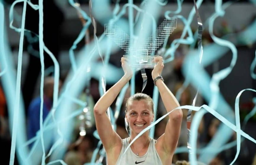 Kvitova wins third Madrid Open title