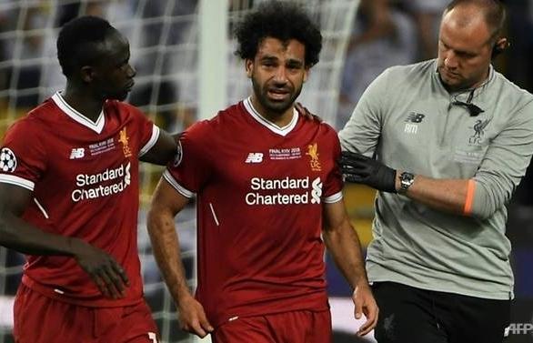 Salah 'confident' for World Cup despite shoulder injury