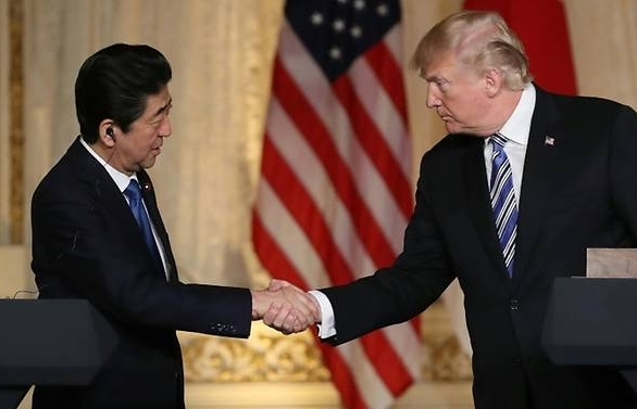 Trump, Abe say 'imperative' to dismantle North Korean weapons