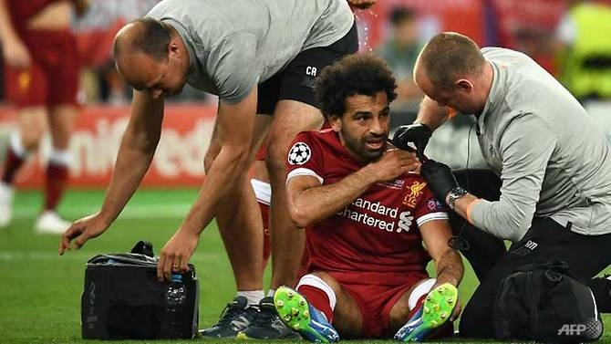 salah could be out for three to four weeks says liverpool physio