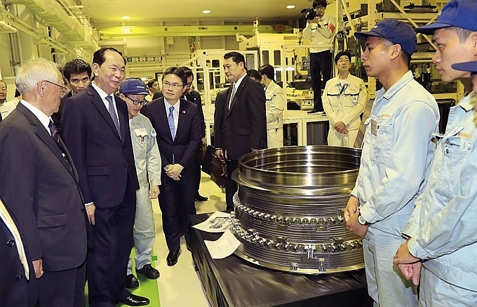 President Quang visits Japan's Gunma prefecture on State visit