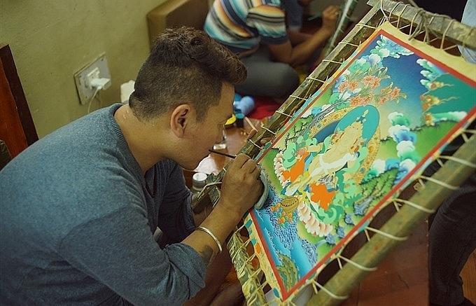 Himalayan thangka art to be showcased in Vietnam