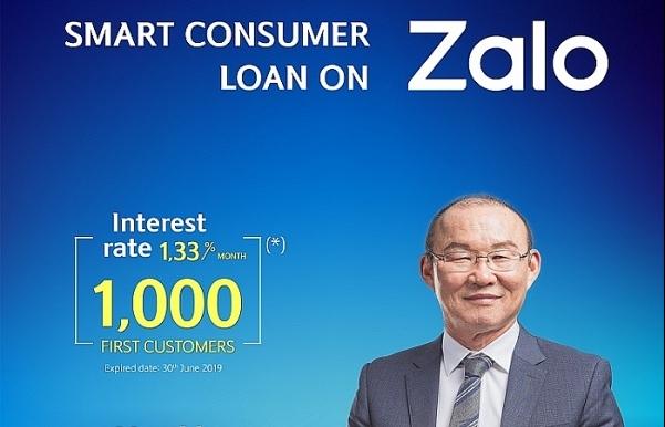 Shinhan Bank launches smart consumer loan on Zalo application