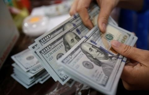Reference exchange rate down 8 VND on May 16
