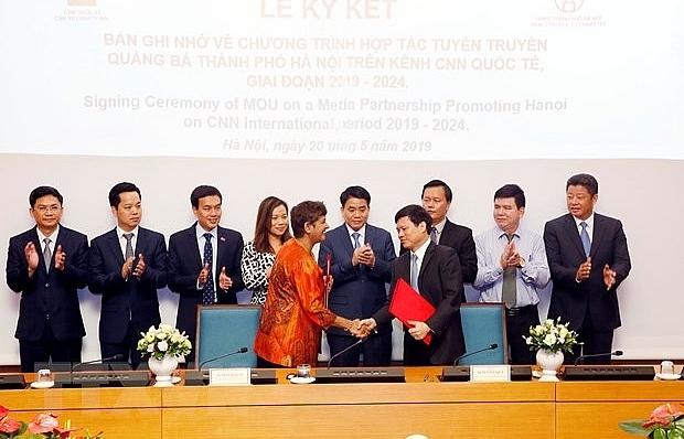 CNN news channel to continue popularising Hanoi