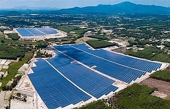 binh dinh solar power plant joins national grid