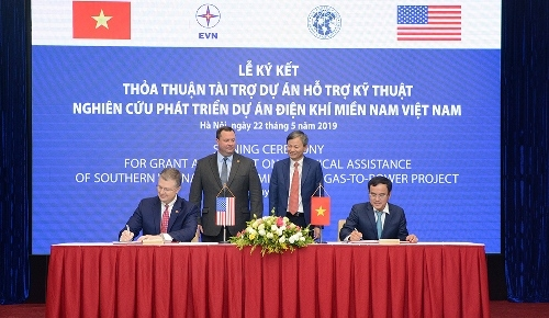 U.S. helps launch gas-to-power project in VN