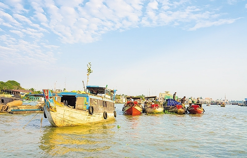 Mekong Delta farmers improve on tricks of the trade in climate battle