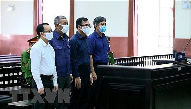 court upholds sentences for ex officials of hcm city