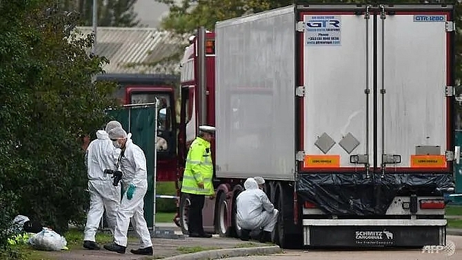 26 people arrested in france and belgium over uk truck deaths