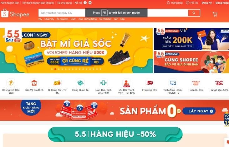 Shopee pulling ahead in e-commerce blitz