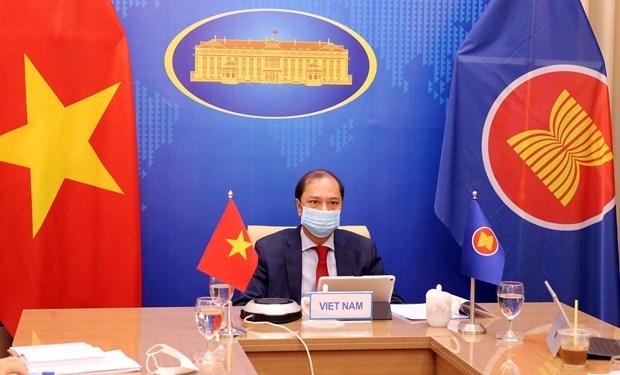 vietnam attends virtual 34th asean us dialogue