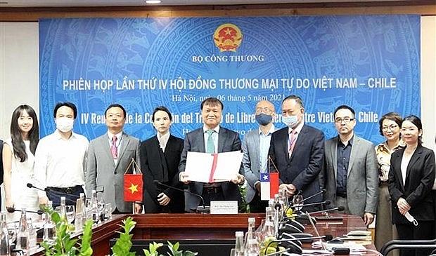 fta providing impetus for vietnam chile trade