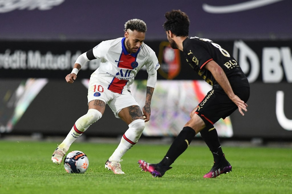 neymar on target but psg draw leaves lille closer to ligue 1 title