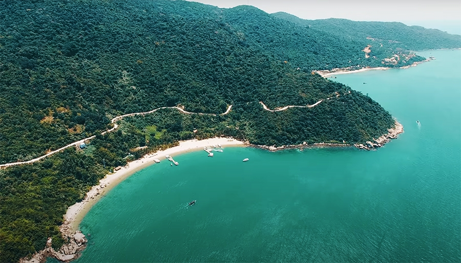 quang nam develops sustainable sea island tourism