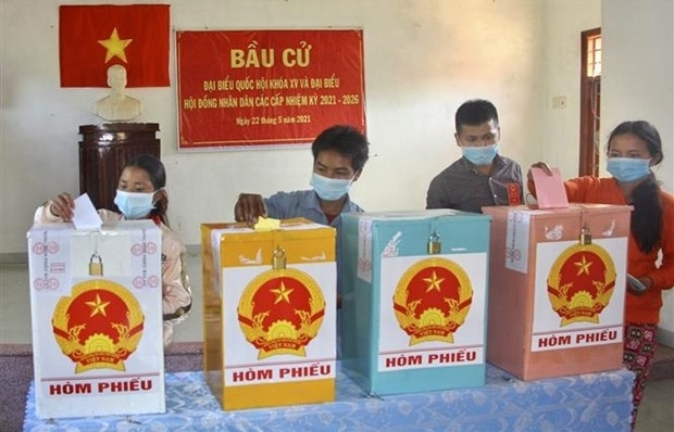 Early elections held in remote areas of Binh Dinh province