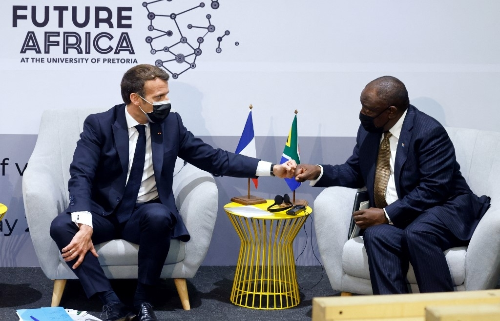France to invest in efforts to produce more Covid vaccine in Africa: Macron