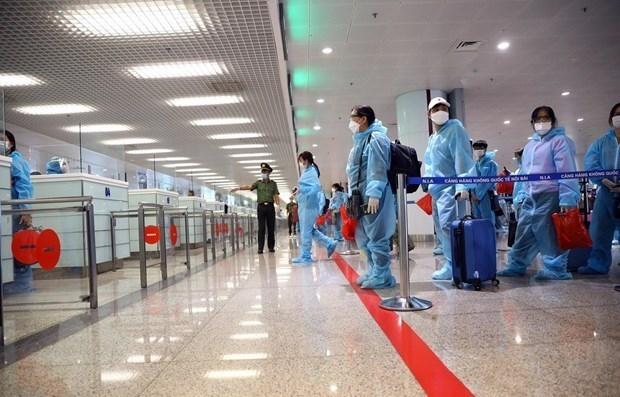 hanoi to close airport to intl arrivals amid resurgence of covid 19